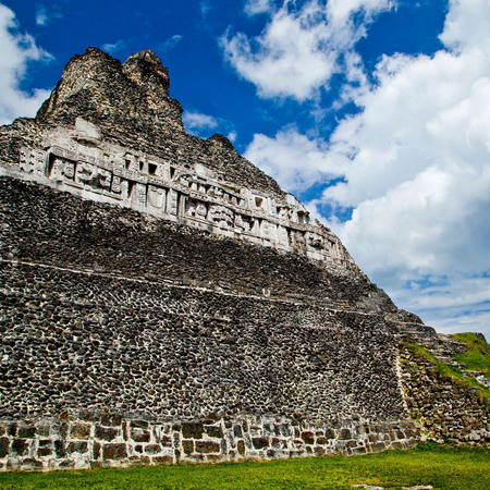 """El Castillo"" (Xunantunich, Maya Archaeological Site,  Belize)"